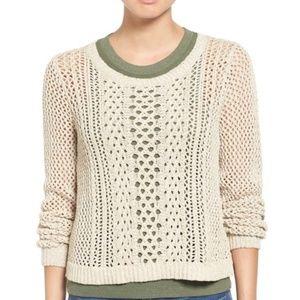 "MADEWELL ""Summer Stitch"" Cotton Knit Sweater S EUC"